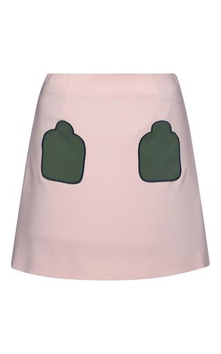 Medium parden s pink cara a line mini skirt