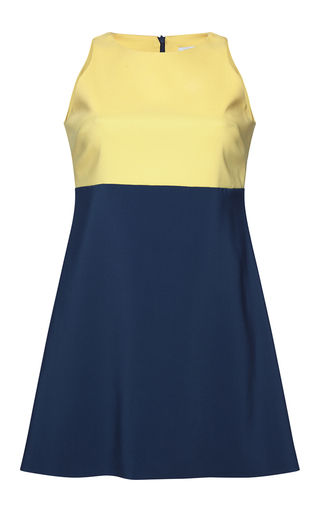 Medium parden s multi lalita color blocked mini dress