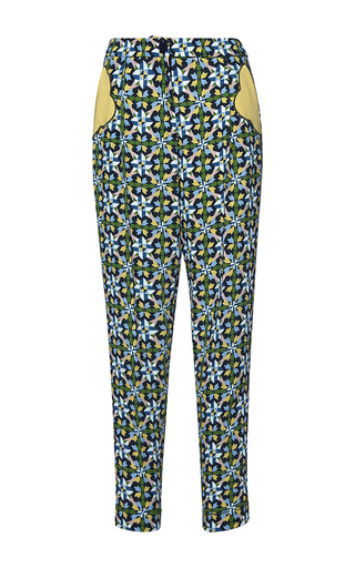 Medium parden s multi keren printed trousers