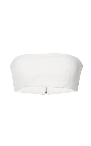 Medium mulhier white bandeau top