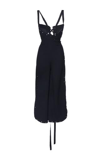 Medium mulhier black stud embellished wide leg jumpsuit