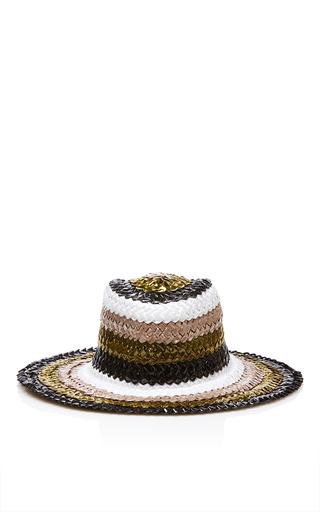 Medium maison michel black charles wild runaway hat