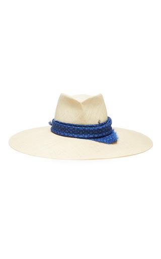 Medium maison michel ivory pina straw hat
