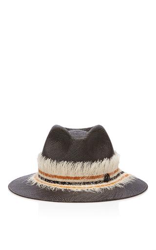 Medium maison michel black virginie wild panama hat