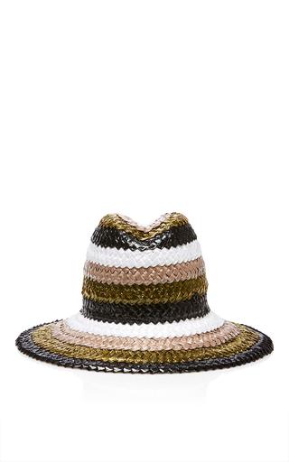 Medium maison michel black ginger wild runaway hat