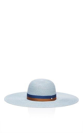 Medium maison michel light blue blanche sun hat