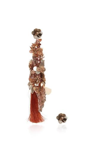Medium johanna ortiz pink fantasy earrings in copper