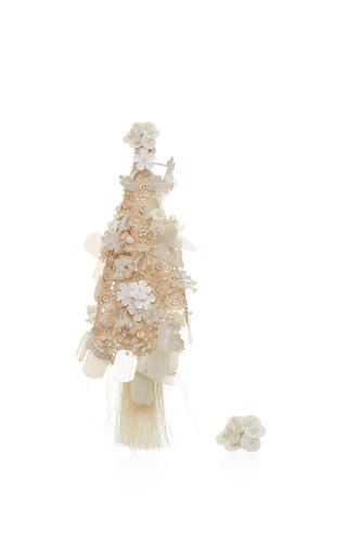 Medium johanna ortiz ivory fantasy earrings in ivory