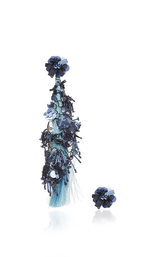 Medium johanna ortiz blue fantasy earrings in celeste blue