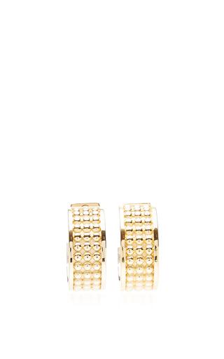 Medium loewe gold hoop earring
