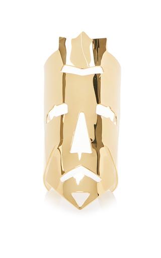 Medium loewe gold vintage mask manchette