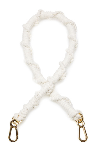 Medium loewe nude string braided strap