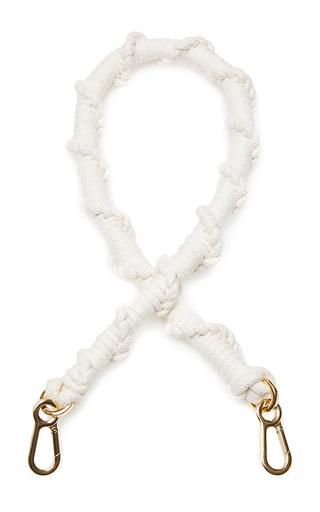 Medium loewe nude string braided strap