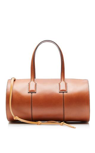 Medium loewe brown barrel bag