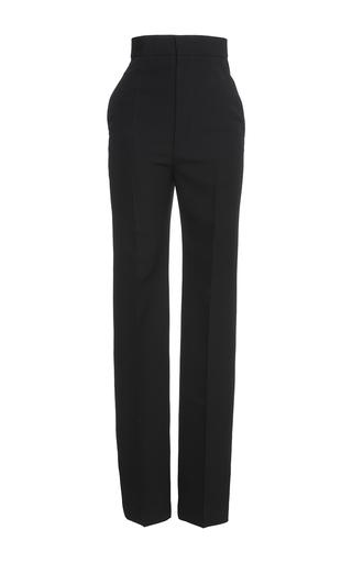 Medium haider ackermann black high waisted trousers