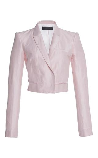 Medium haider ackermann pink cropped classic jacket