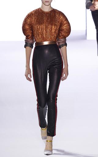 Medium haider ackermann black leather leggings