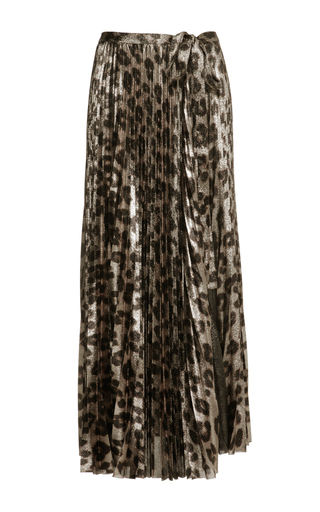 Medium haider ackermann print plisse skirt