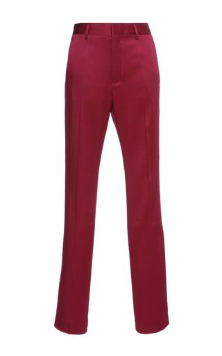 Medium haider ackermann red classic trousers