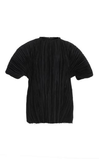 Medium haider ackermann black short plisse top
