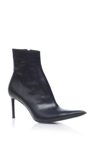 Medium haider ackermann black pointed toe boot