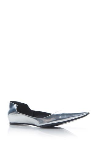 Medium haider ackermann silver slip on shoe