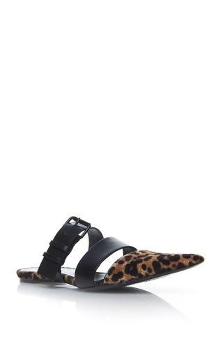 Medium haider ackermann black buckle sandal