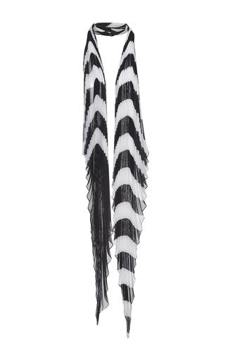 Medium haider ackermann black plisse knot scarf 3