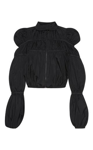 Medium giambattista valli black puffed sleeve jacket
