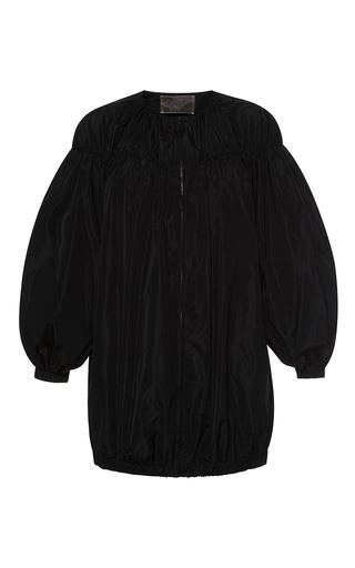 Medium giambattista valli black short sleeve oversized jacket