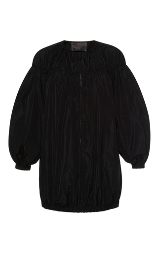Medium giambattista valli black short sleeve oversized jacket