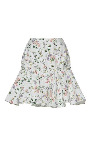 Medium giambattista valli print floral print mini a line skirt