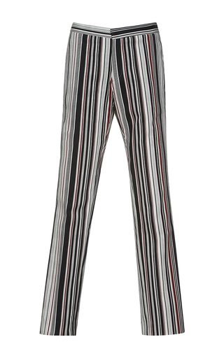 Medium giambattista valli stripe straight legged striped pant