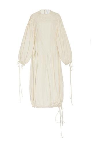 Medium loewe off white balloon drawstring dress