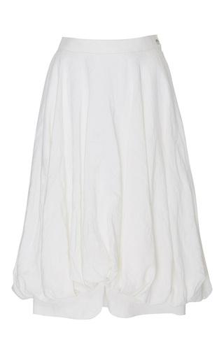 Medium loewe white balloon skirt