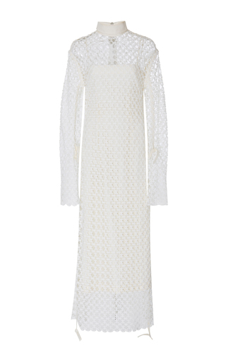 Medium loewe white guipure dress