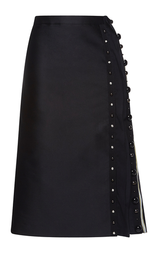 Medium no 21 black gracia pencil skirt