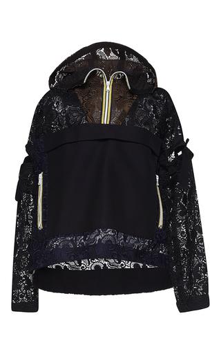 Medium no 21 black eugenia macrame sport jacket