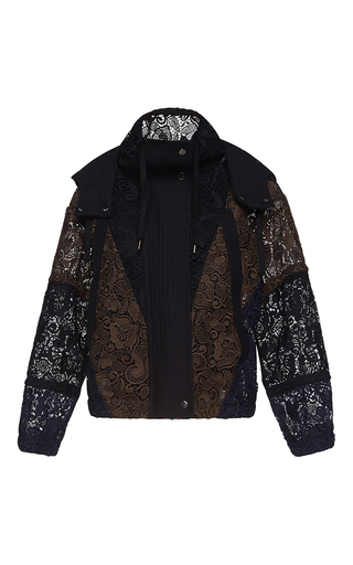 Medium no 21 multi emilia hooded sport jacket
