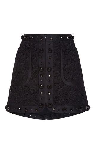 Medium no 21 black gregoria mini skirt