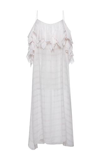 Medium no 21 pink alicia sleeveless maxi dress