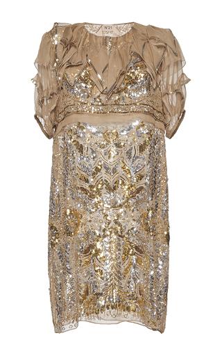 Medium no 21 multi almira embellished dress