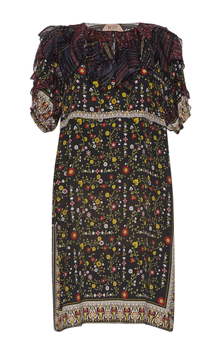 Medium no 21 multi almira floral dress