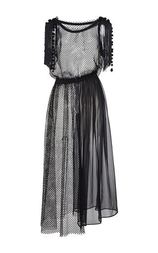 Medium no 21 black irene sleeveless dress