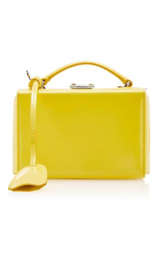 Medium mark cross yellow brush off grace mini box bag 2