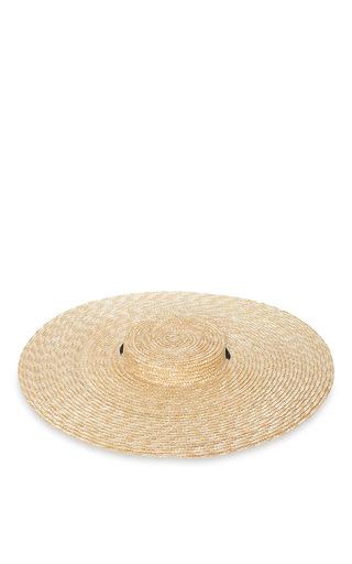 Medium jacquemus nude santon straw hat