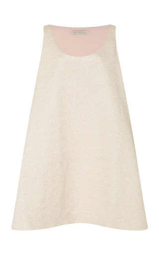 Medium emilia wickstead gold cloque dress