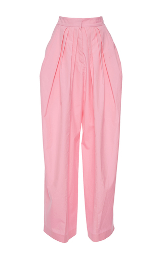 Medium vika gazinskaya pink bananas relaxed fit wide leg pants