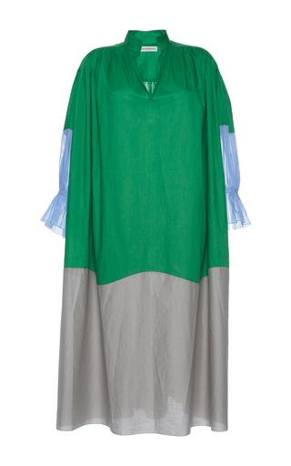 Medium vika gazinskaya multi color block long dress