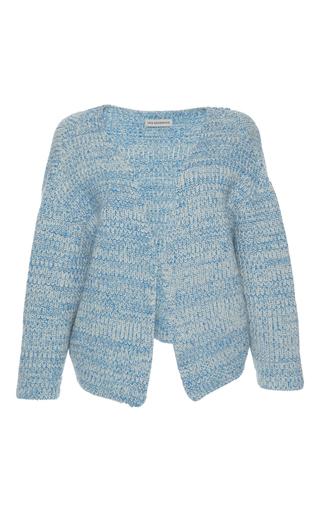 Medium vika gazinskaya blue relaxed cardigan